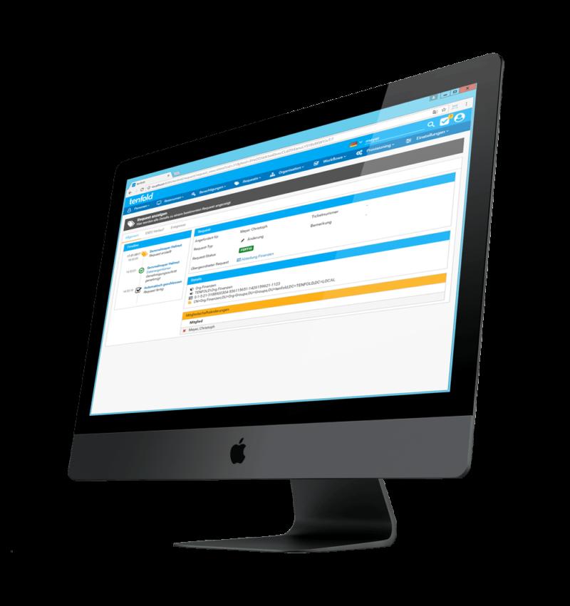 tenfold Security - Berechtigungsmanagement einfach und intuitiv